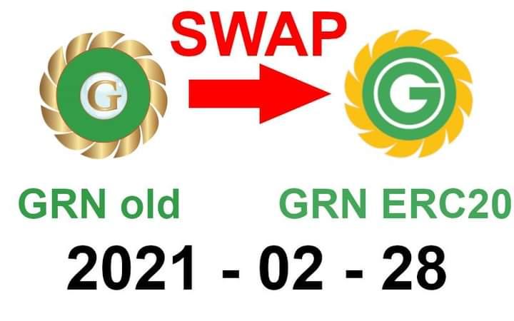 GreenPower (DasCoin) SWAP do 28 lutego