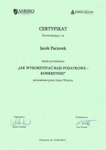 certyfikat_jacek_paciorek_jak_wykorzystac_raje_podatkowe_-_konkretnie