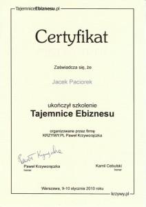 certyfikat_jacek_paciorek_tajemnice_ebiznesu