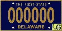 delaware-license-plate