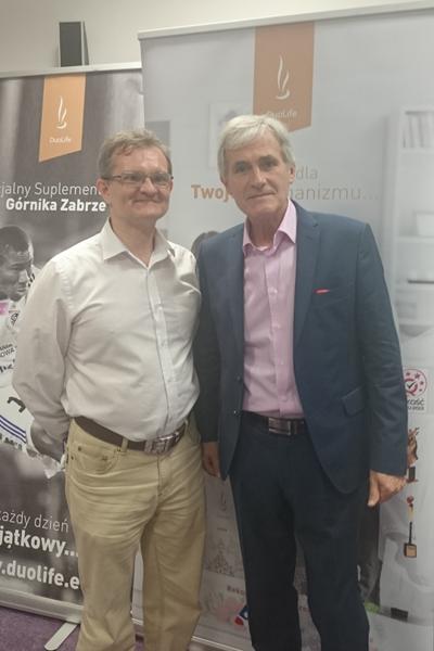 """Jacek 'Hodża' Paciorek, dr Piotr Kardasz, Konferencja """"Żyj Świadomie"""", Łódź 2015-07-14"""